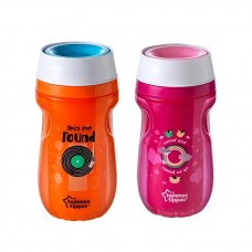 Tommee Tippee - Insulated 360 Tumbler 260ML (9M+) *Pink*