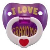 "Billy Bob - ""I Love My Grandma"" Pacifier"
