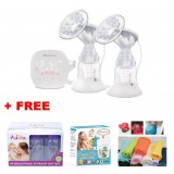 Autumnz - ELTERNAX Double Alternate Electric Breastpump w FREE GIFTS total worth RM79.40