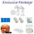 Autumnz - ELTERNAX Double Alternate Electric Breastpump *EXCLUSIVE PACKAGE*
