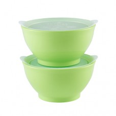 Elipse Kids - Stage 1 Bowl Set with Lids 8oz *Green*