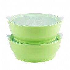 Elipse Kids - Stage 3 Bowl Set with Lids 12oz *Green*