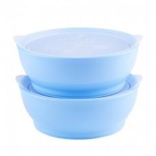 Elipse Kids - Stage 3 Bowl Set with Lids 12oz *Light Blue*