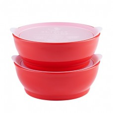 Elipse Kids - Stage 3 Bowl Set with Lids 12oz *Red*