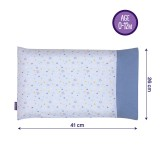 Clevamama - Clevafoam Baby Pillow Case *Blue Star*