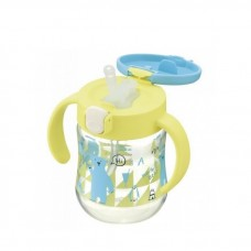 Richell - T.L.I Straw Bottle Mug *Yellow*
