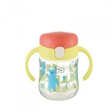 Richell - T.L.I Clear Drinking Bottle Mug *Yellow*