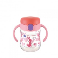 Richell - T.L.I Clear Drinking Bottle Mug *Pink*