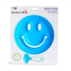 Munchkin - Smile 'n Scoop™ Suction Plate & Training Spoon *BEST BUY*