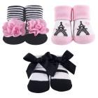 Hudson Baby - Socks Gift Set 3pk 0-9M (Pink) *58260* BEST BUY