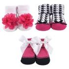 Hudson Baby - Socks Gift Set 3pk 0-9M (Pink) *58262* BEST BUY