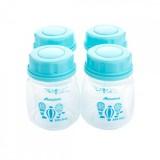 Autumnz - Standard Neck Breastmilk Storage Bottles *2oz* (4 btls) - Up Up and Away