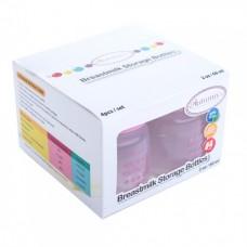 Autumnz - Standard Neck Breastmilk Storage Bottles *2oz* (4 btls) - Jovial Pink