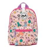 Babymel - Zip & Zoe Mini Backpack & Safety Harness / Reins Age 1-4 Years (Llama)