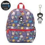 Babymel - Zip & Zoe Junior Backpack (Monster)