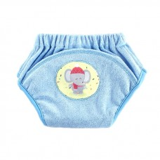 * CuddleMe - Adjustable Training Pants *LITE BLUE (Elephant)*
