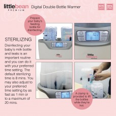 Little Bean - Premium Digital Double Bottle Warmer