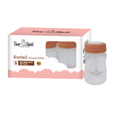 Tiny Touch - Milk Storage Bottles 6pcs * BEST BUY