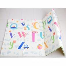 AUTUMNZ PE Foldable Baby Playmat - SIZE L *Jungle Safari / Alphabets*