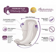 Autumnz -  Premium Plus Maternity Pads *41cm (10 pads per pack) BEST BUY -Twin Pack