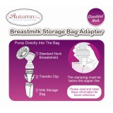 Autumnz - Breastmilk Storage Bag Adapter *Standard Neck*