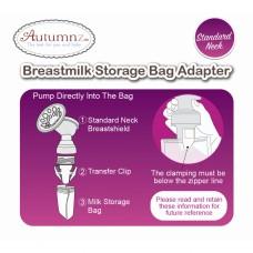 Autumnz - Breastmilk Storage Bag Adapter *Standard Neck*