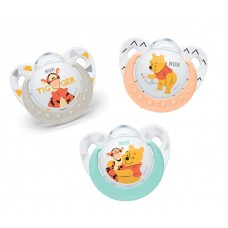 NUK - Disney Winnie the Pooh Silicone Soother S2 (6-18mth)