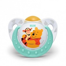 NUK - Disney Winnie the Pooh Latex Soother S1 (0-6mth)