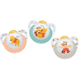 NUK - Disney Winnie the Pooh Latex Soother S2 (6-18mth)