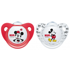 NUK - Disney Mickey Silicone Soother S2 (6-18mth)