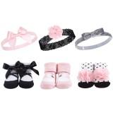 Hudson Baby - Headband & Socks Gift Set 6pk *BEST BUY* (58251)