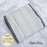 * CuddleMe - Dry Pad (Waterproof Mattress Protector) *AZTEC GREY*