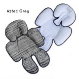 * CuddleMe - Head & Body Support Seat Pad *AZTEC GREY*