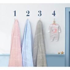 Comfy Living -  Cellular Blanket (L) 100x140cm  * Pink*