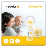 Medela - Swing Flex Single Electric Breastpump *BEST BUY*