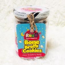 Rush Baby - Bone Broth Cookies (Choco Strawberry Honey) *BEST BUY*
