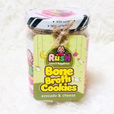 Rush Baby - Bone Broth Cookies (Avocado Cheese) *BEST BUY*