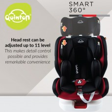 Quinton - Smart 360° Isofix Safety Car Seat *Magic Black*