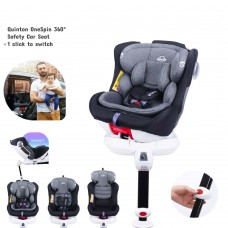 Quinton - One Spin 360° Safety Car Seat *Grey*