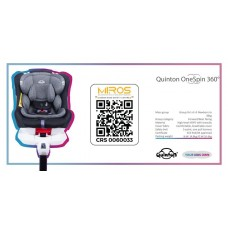 Quinton - One Spin 360° Safety Car Seat *Blue*