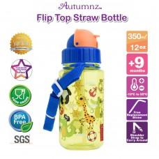 Autumnz - Flip Top Straw Bottle 350ml /12oz *BEST BUY*