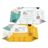 K-MOM - First Wet Wipes Value Embo Cap 100pcs* BEST BUY