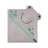 Clevamama - Bamboo Apron Baby Bath Towel *Grey*