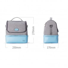 59S - UVC LED Sterilizing Mummy Bag *Blue / Pink*