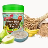 NBH - Brown Rice Banana Pear 120g *BEST BUY*
