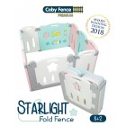 Coby Haus - Premium 8+2  Starling Folding Fence