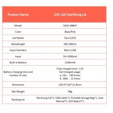 59S - UVC LED Multi Function Sterilizing Lid