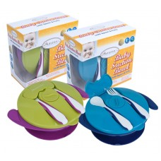 Autumnz - Baby Suction Bowl with Spoon and Fork
