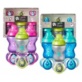 Tommee Tippee - CTN Boldly Go Baby Bottle and Pacifier Gift Set