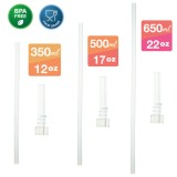 Autumnz -  Replacement Straw & Valve (for Flip Top Straw Bottle 350ml / 500ml / 650ml) *BEST BUY*